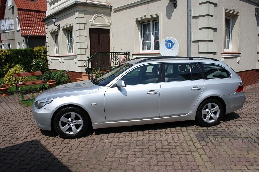 BMW E60 520d kombi, rok prod. 2007, model 2008