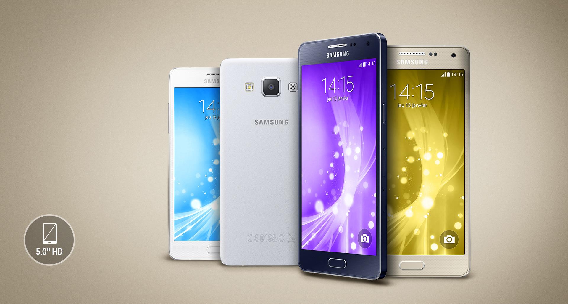 Samsung Galaxy A5 BLACK w cenie 1239 zł