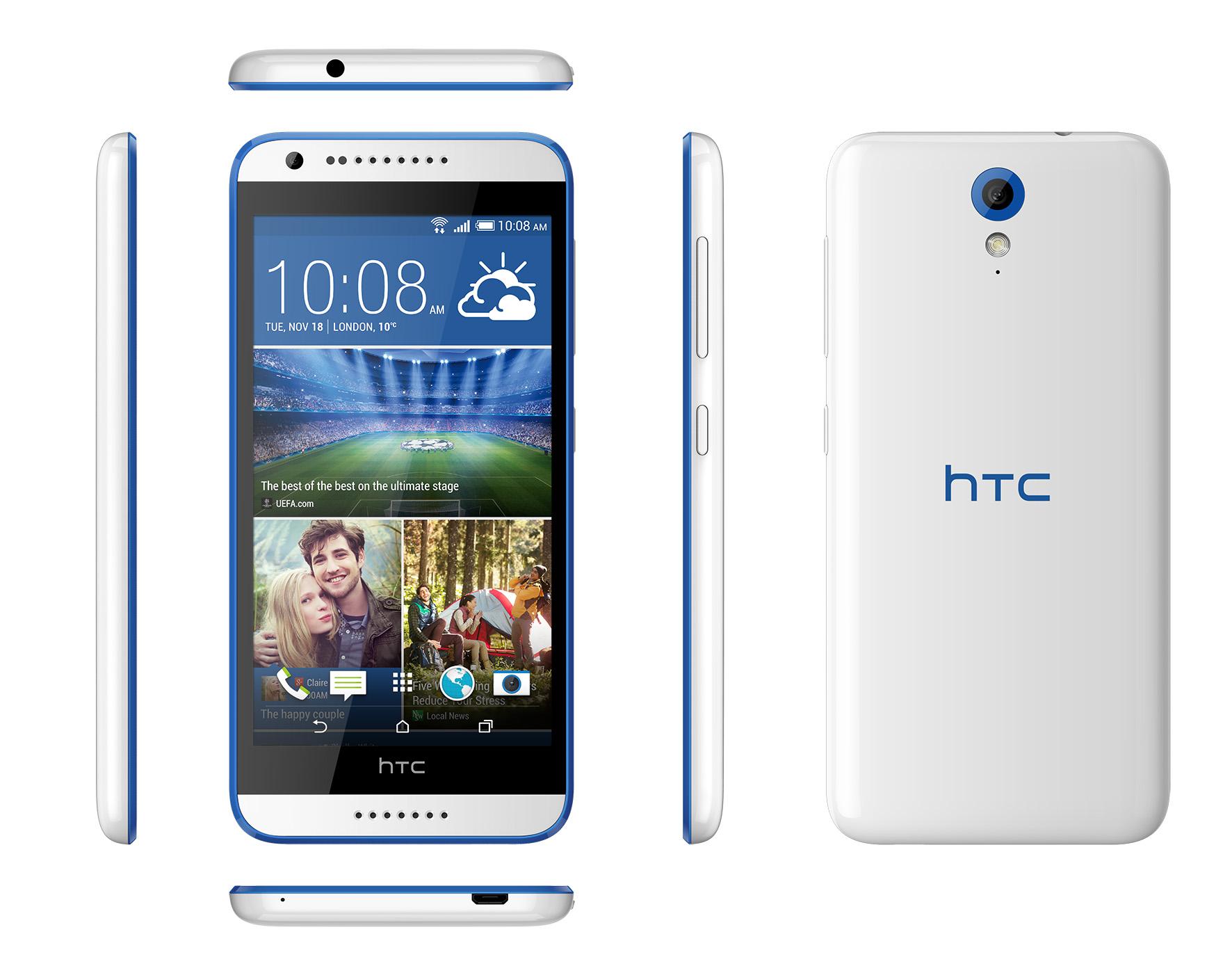 Nowośc !!!  HTC DESIRE 620 BLUE  w cenie 729 zł