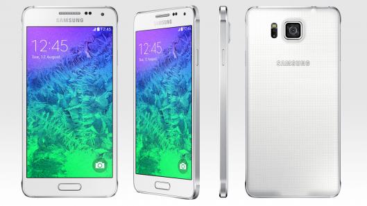 Samsung GALAXY  ALPHA  WHITE 32GB  w cenie 1240zł