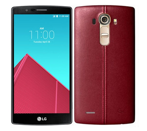 Nowość ! LG G4 RED LEATHER !