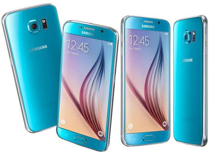 Samsung Galaxy S6 32GB TOPAZ BLUE w cenie 1919 zł