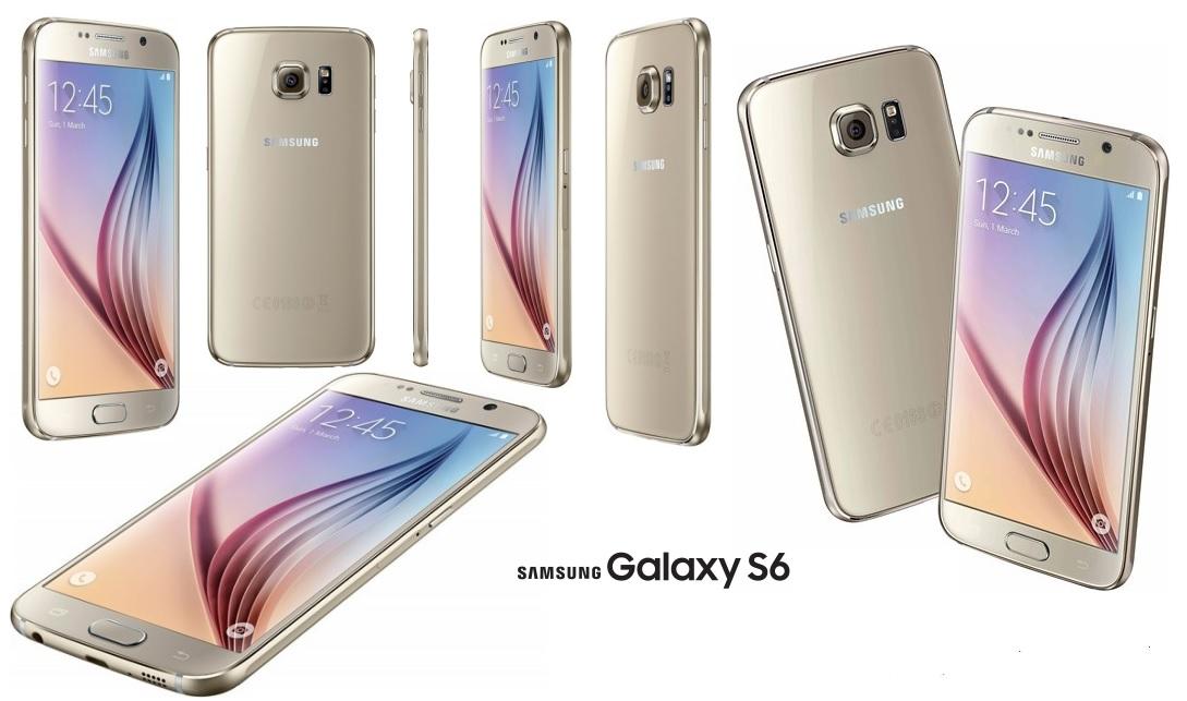 Samsung Galaxy S6 GOLD 32 GB w super cenie 1849 zł !