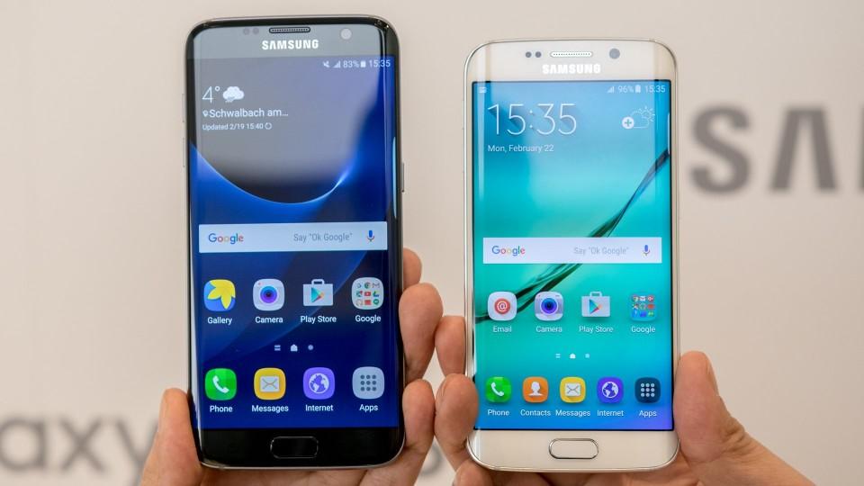 NOWOŚĆ! Samsung S7 EDGE GOLD/BLACK w cenie 2999 zł