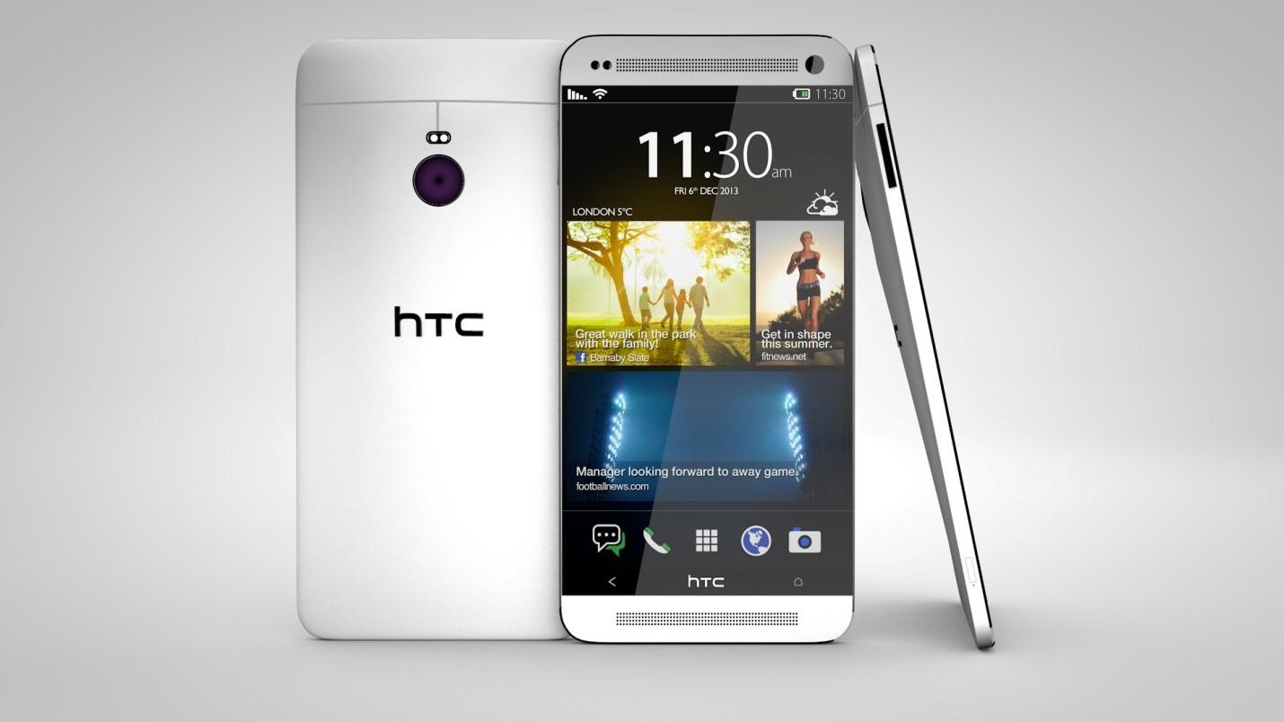 HTC M8S SILVER w cenie 1159 zł