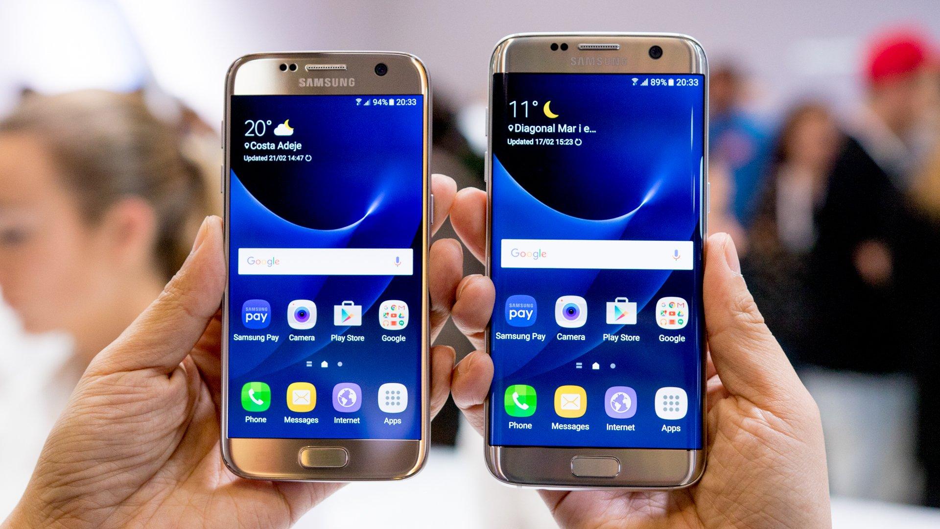 Samsung S7/ S7 EDGE GOLD w cenie 2369zł/ 2799 zł