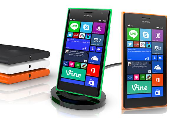 Microsoft LUMIA 735 RED/ BLUE/ WHITE w cenie 549 zł