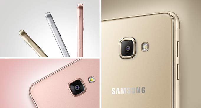 Samsung A5 2016 GOLD / ROSE w cenie 1329 zł