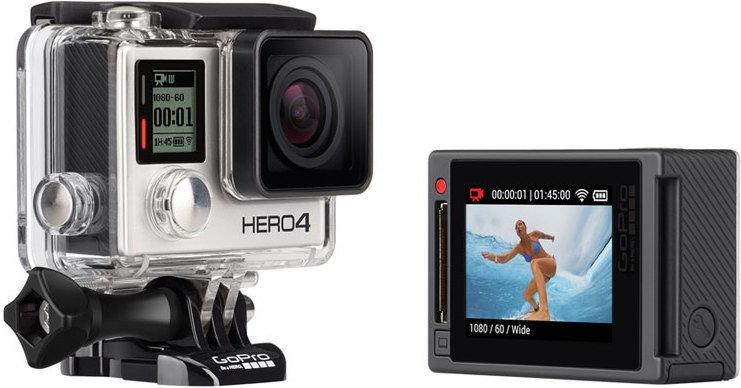 OKAZJA ! Kamera GoPro HERO 4 SILVER w super cenie 1299 zł