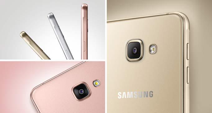 Samsung A5 2016 GOLD/PINK w cenie 1299 zł, szkło hartowane GRATIS !