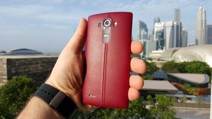 LG G4 RED LEATHER DUAL SIM 32GB w super cenie 1299 zł