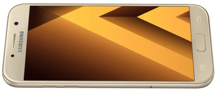 Nowość! Samsung Galaxy A3 2017 w kolorze SAND GOLD