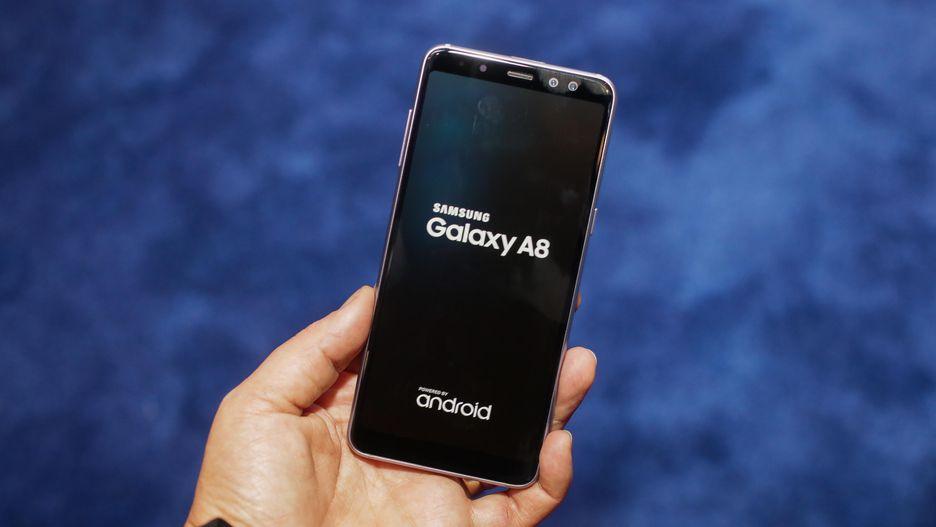 Nowość 2018! Samsung GALAXY A8 BLACK