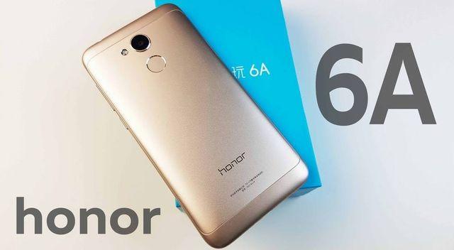 Nowość 2018 ! Huawei HONOR 6A w kolorze SILVER z kartą pamięci 64GB !