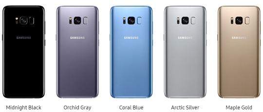 Szukasz Galaxy S8 lub S8 PLUS ? Mamy wszystkie kolory !