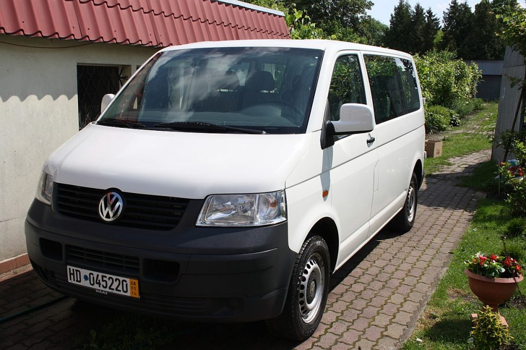 VW T5 Transporter 1,9 TDI , rok prod. 2005, model 2006