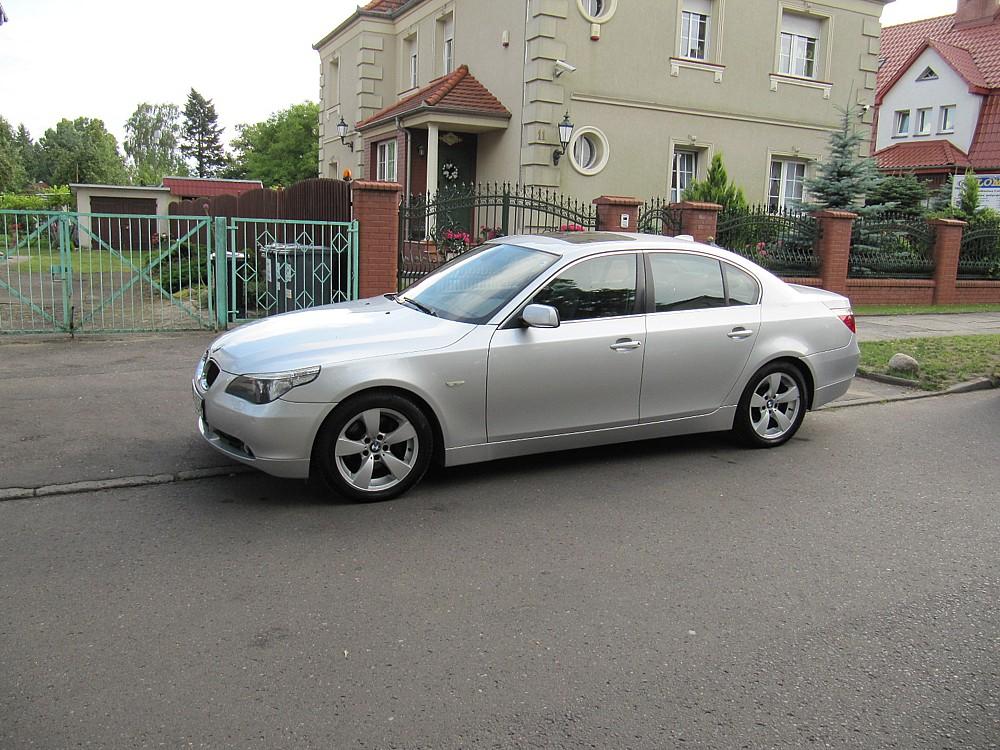 BMW E60 530d , rok prod. 2004, model 2005