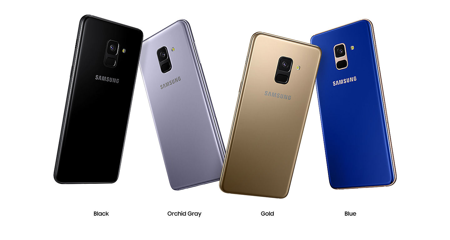 Samsung Galaxy A8 GOLD z kartą 64GB